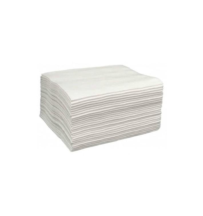 Einmal-Badetuch Spunlace weiß 40x80cm 43g/m² (700 Stück)