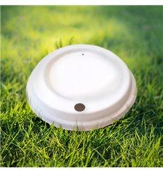 Deckel weiß für Becher 12, 16 y 22 Oz Ø9,0cm (100 Stück)