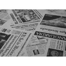 """Papiertischdecke 1x1m """"Presse"""" 37g (400 Stück)"""