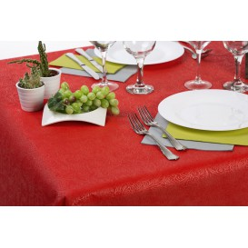 Tischdecke Non Woven PLUS Rot 100x100cm (100 Stück)