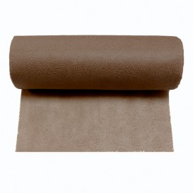 Rolltischdecke Non Woven PLUS Braun 0,40x45m P30cm (6 Stück)