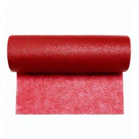 Rolltischdecke Non Woven PLUS Rot 0,40x45m P30cm (6 Stück)