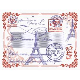 "Tischsets Papier 30x40cm ""Paris"" 40g (1.000 Stück)"
