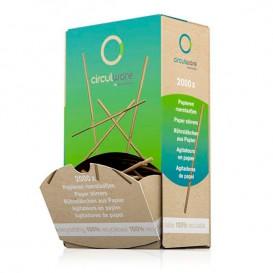 Papier-Rührstäbchen für Kaffee 110mm (2000 Stück)