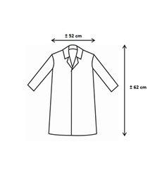 PP Schutzmäntel Kind Rot Klettverschluss Ohne Tasche (50 Stück)