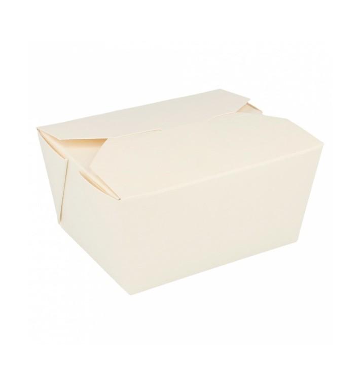 SnackBox Amerikanisch To Go Weiß 113x90x64mm (50 Stück)