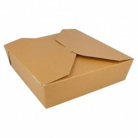 SnackBox Amerikanisch To Go Natürliche 21,7x21,7x6cm 2910ml (35 Stück)