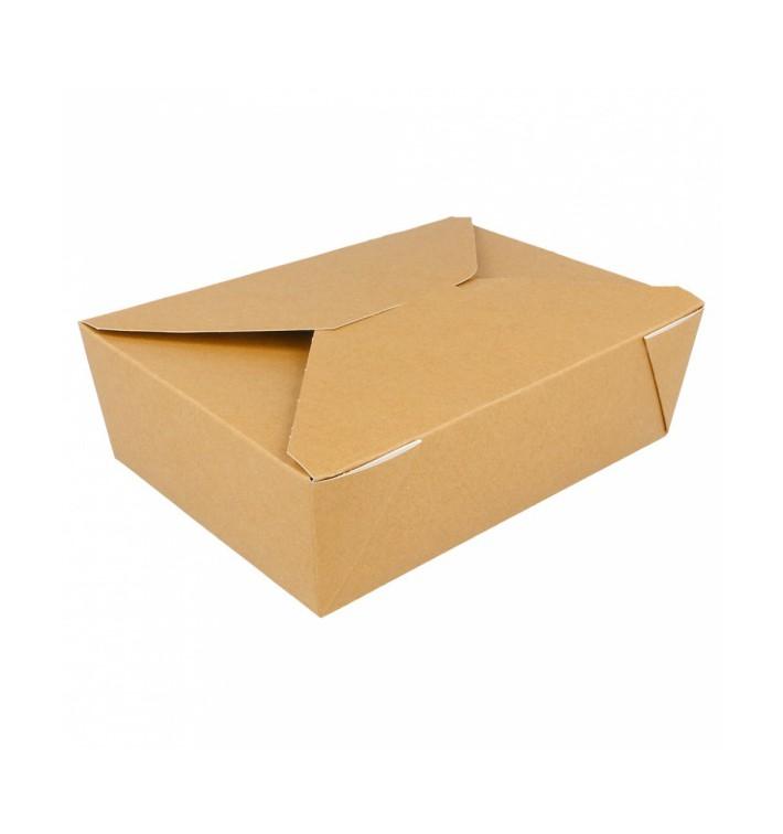 SnackBox Amerikanisch To Go Natürliche 19,7x14x6,4cm 1980ml (50 Stück)