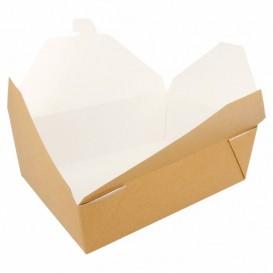 SnackBox Amerikanisch To Go Natürliche 19,7x14x6,4cm 1980ml (200 Stück)