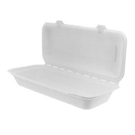 Panini-Box Zuckerrohr 29x27,3x3,75cm (50 Stück)