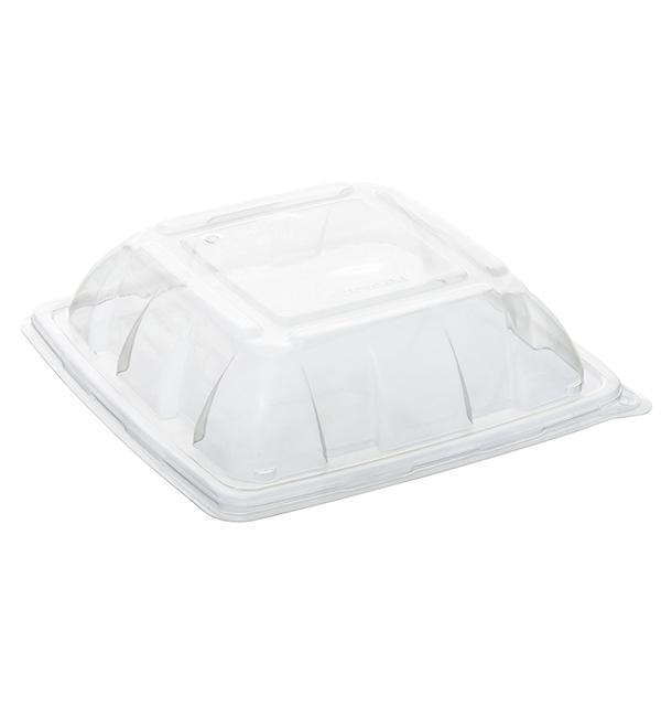 Domdeckel aus Plastik PP für Behälter 230x230mm (50 Stück)