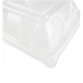 Domdeckel aus Plastik PP für Behälter 230x230mm (300 Stück)