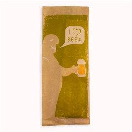 """PapierBesteckumschlag mit Servietten """"I Love Beer"""" (125 Stück)"""