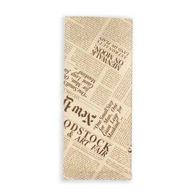 """PapierBesteckumschlag mit Servietten """"New York Times"""" (1000 Stück)"""
