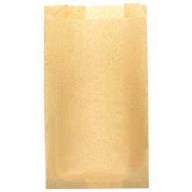 Burgerpapier fettdicht Kraft 14+7x24cm (1.000 Stück)