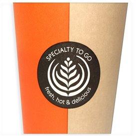 """Kaffeebecher """"Specialty"""" 12 Oz / 360 ml Ø8,0cm (1.100 Stück)"""