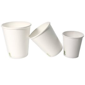 Kaffeebecher to go Karton weiß 6 Oz/180ml Ø7,0cm (100 Stück)