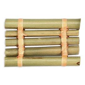 """Bambusschale """"Floß"""" 8x5cm (24 Stück)"""