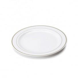 Plato de Plastico Rigido Transparente Cristal de 14cm (6 Uds)