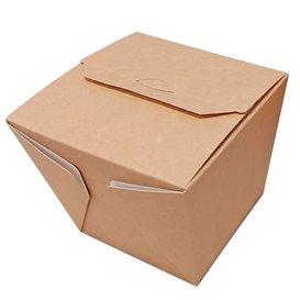 "Faltbox Pappe ""To Go"" Wok Kraft 7120ml (20 Stück)"