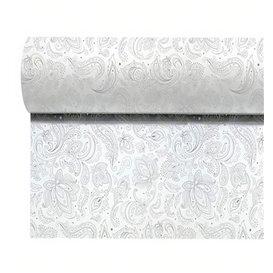 "Rolltischdecke Non Woven 1,2x50m ""Mandala"" Grau 50g/m² V40cm (1 Stück)"