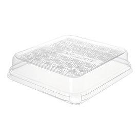 Plastikdeckel für Verpackung Zuckerrohr 18,5x18,5cm (50 Stück)