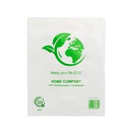 Flachbeutel Markt 100% bio-abbaubar 23x30cm (100 Stück)