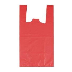 "Hemdchenbeutel 70% Recycelter ""Colors"" Rot 42x53cm 50µm (40 Stück)"