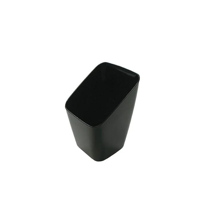 Transparente Welle Schüssel aus Plastik (50 Einheiten)