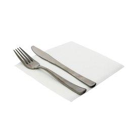 Papierservietten weiß 33x33cm 1-lagig (4.800 Stück)