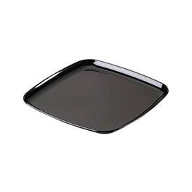Plastikplatte extra hart schwarz 30x30cm (25 Stück)