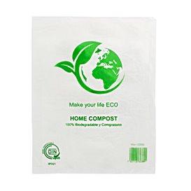 Flachbeutel Markt Block 100% Home Compost 30x40cm (100 Stück)
