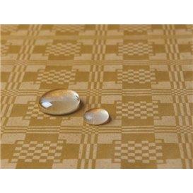 Tischdecke wasserdicht gold 1,2x5m (1 Stück)