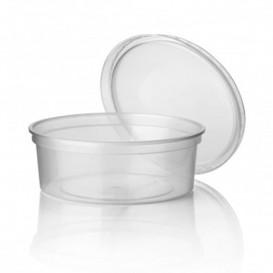 Transparente Plastikdose 350ml (500 Einheiten)