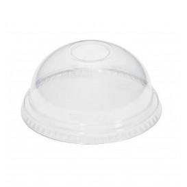 Domdeckel ohne Loch PET Glasklar Ø8,3cm (1000 Stück)
