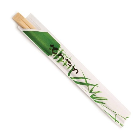 Essstäbchen aus Bambus einzeln verpackt 200mm (100 Stück)