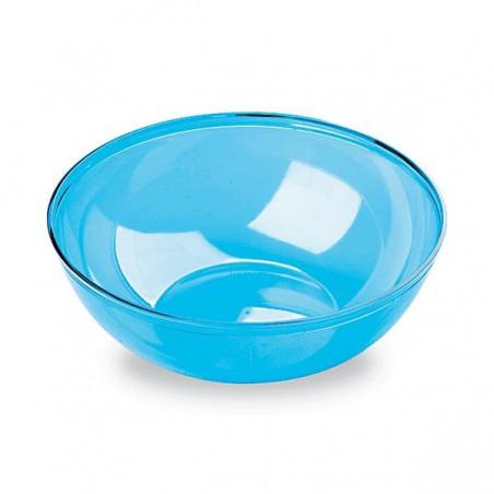 Plastikschüssel PS Glasklar Hart Türkis 400ml (60 Stück)