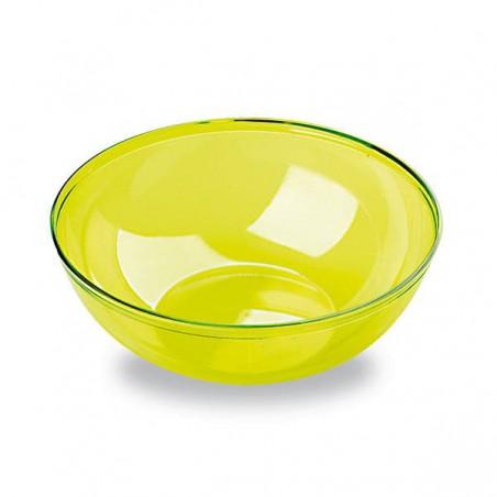 Plastikschale PS Glasklar Hart Grün 400ml (60 Stück)
