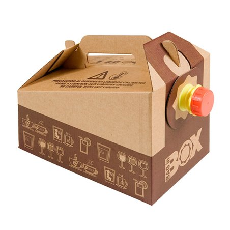 "Thermosbehälter Einweg ""Bag in Box"" 3.000ml. (25 Stück)"