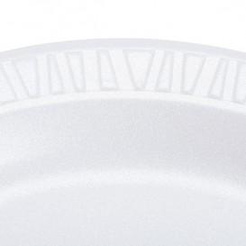 Termische Teller FOAM weiß 230mm (125 Einh.)