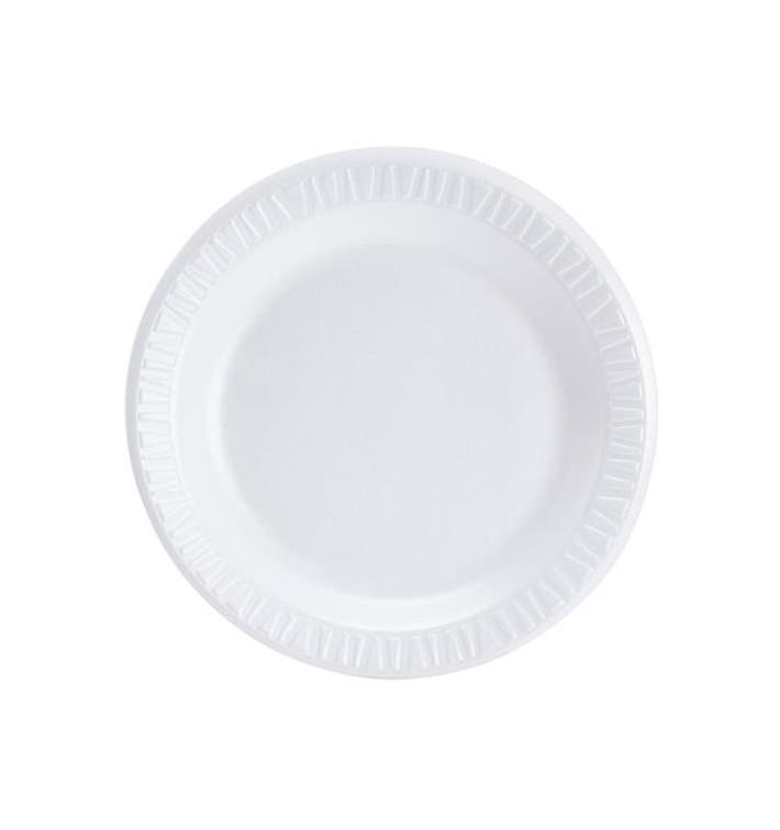 Styroporteller weiß 230mm (500 Stück)