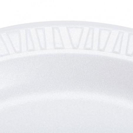 Termische Teller FOAM weiß 230mm (500 Einh.)