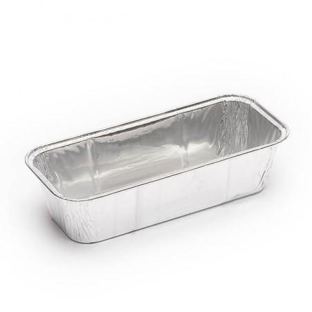Aluschalen für Kastenkuchen 750ml (100 Stück)