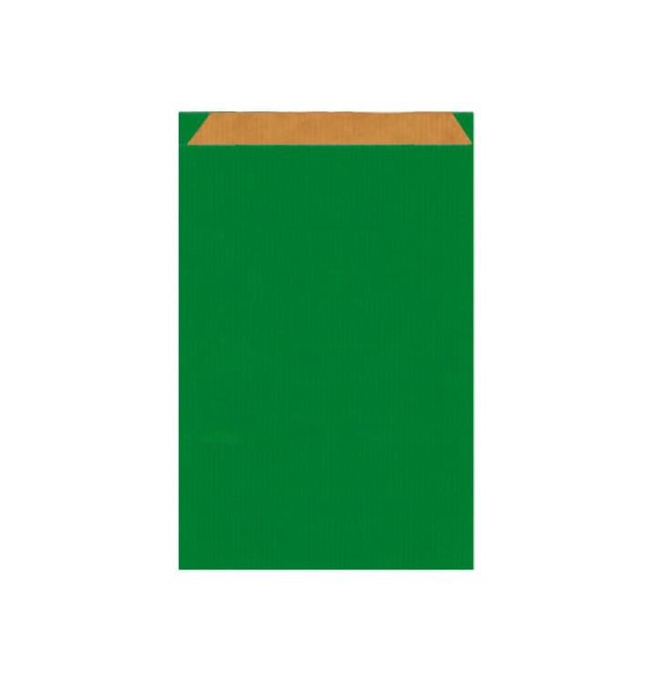 Papiertüten Kraft Grün 12+5x18cm (50 Einh.)
