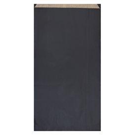 Papiertüten Kraft Schwarz 19+8x35cm (50 Einh.)