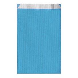 Papierumschlag Türkis 12+5x18cm (125 Stück)