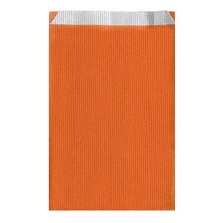 Papierumschlag Orange 19+8x35cm (750 Stück)