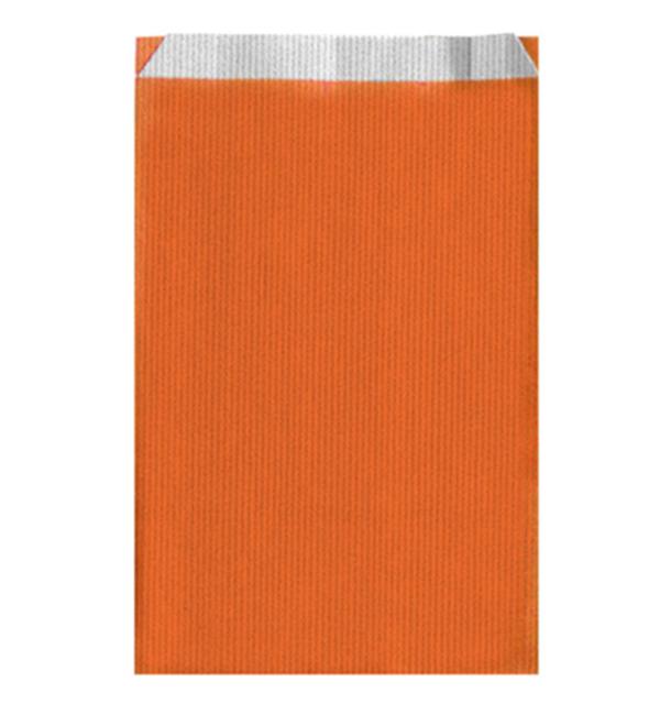 Papiertüten Orange 26+9x46cm (250 Einh.)