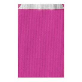 Papierumschlag Pink 19+8x35cm (125 Stück)