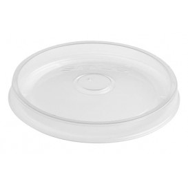Transparent Plastikdeckel für Saucenbehälter 350, 500 und 1.000ml (50 Einh.)